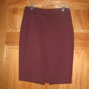 Womens Mossimo Stretch Extensible Pencil Skirt